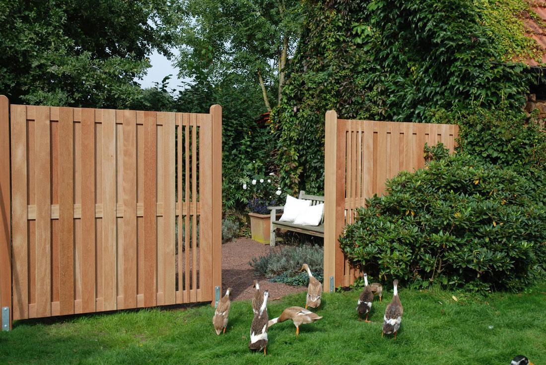 Sichtschutzzäune für den Garten