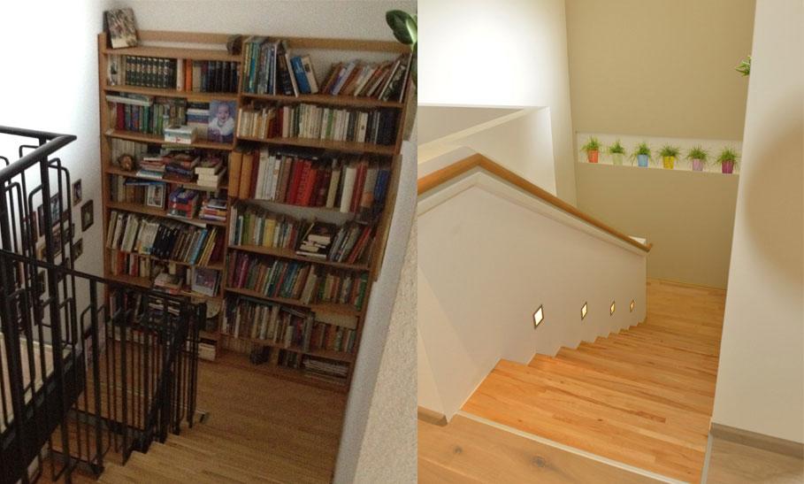 Treppenhaus Wohnen neu