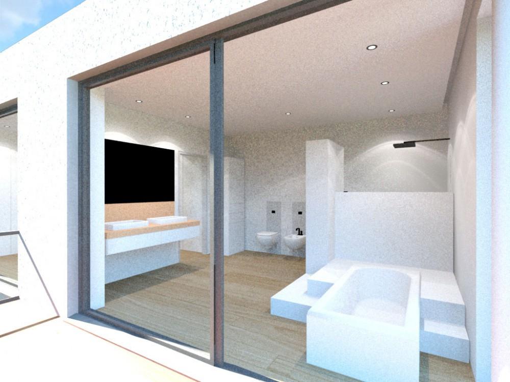 Wohnhaus am Meer